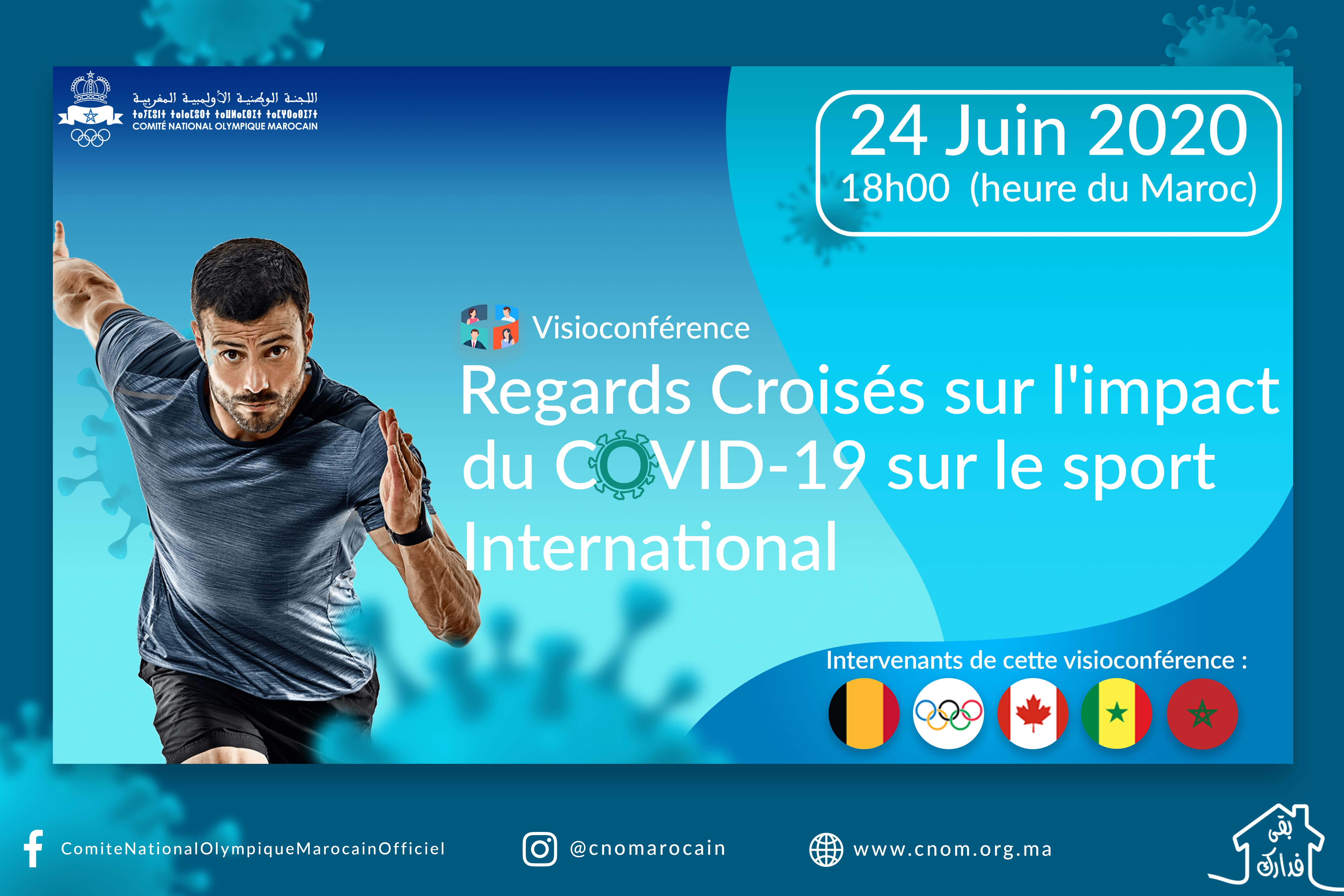 Visioconférence : Regards Croisés sur l'impact du COVID-19 sur le sport international